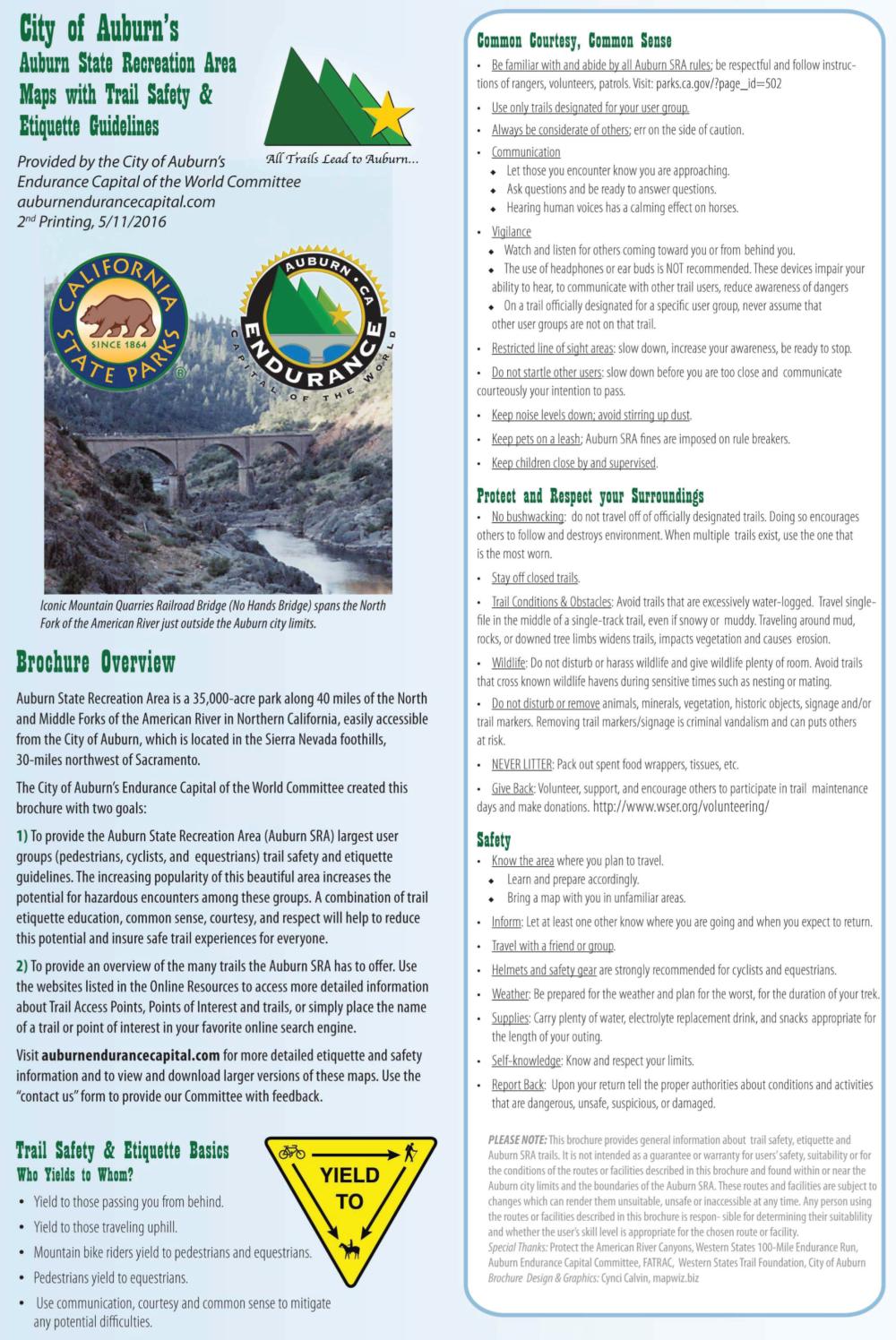 Auburn State Recreation Area Maps Auburn Ca Endurance